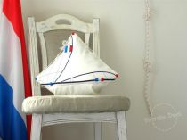 French Yacht Pillow Design by Daga